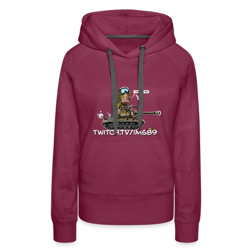 imslovepatton hoodie woman - Women's Premium Hoodie