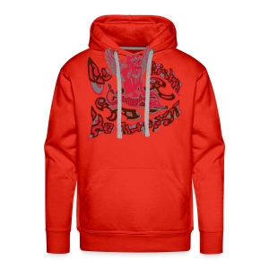Go fish! Be happy!, sweatshirt - Herre Premium hættetrøje