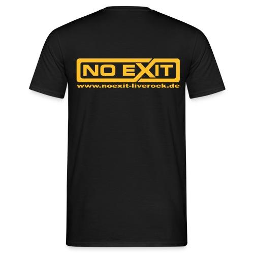 NE Shirt BL Black - Männer T-Shirt