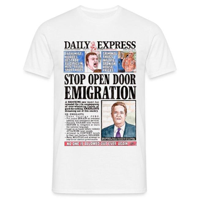 Daily Express: Emigration T-shirt