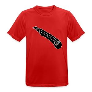 CUTTER Teppichmesser 2 - Männer T-Shirt atmungsaktiv