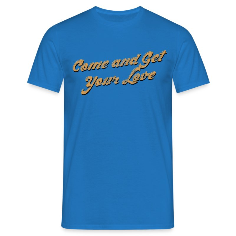 Come and Get Your Love Yellow - Men's T-Shirt