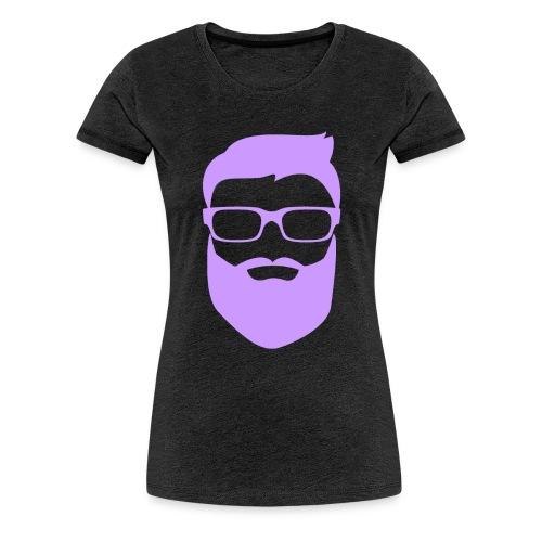 Hombre con barba Nicole Edition - Frauen Premium T-Shirt