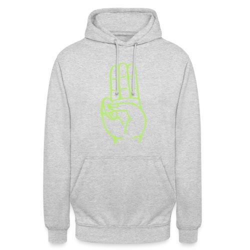StammesPulli II Logo/Schrift: Hellgrün, Pullifarbe: wählbar - Unisex Hoodie