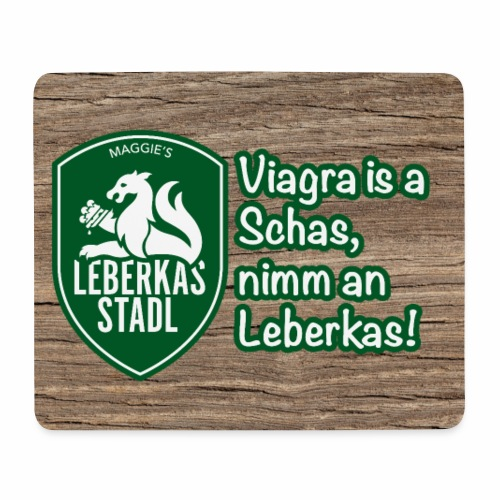 Mousepad, Viagra is a Schas - Mousepad (Querformat)