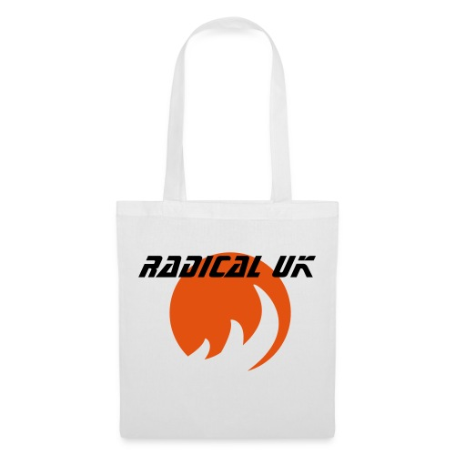 'Radical UK' Tote Bag (WHITE) - Tote Bag