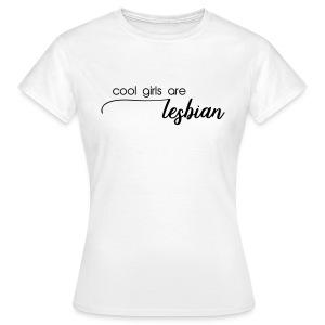 lesbian girls - Frauen T-Shirt