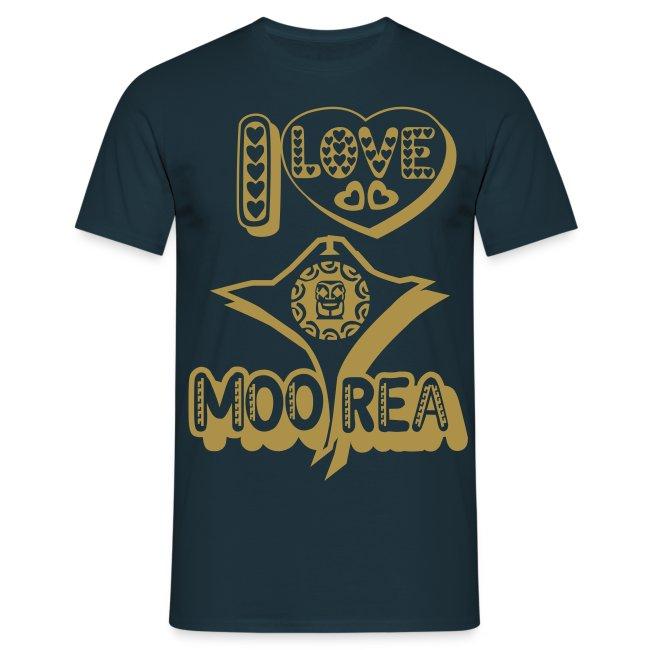 I LOVE MOOREA T-SHIRT