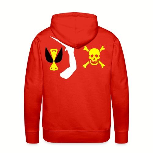 Sweat-shirt à capuche Christopher Moody Flag - Sweat-shirt à capuche Premium pour hommes