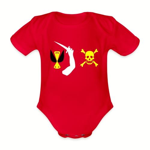 Body manches courtes Bébé Christopher Moody Flag - Body bébé bio manches courtes