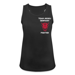 TJG Fighter women, Tank Top 2, black - Frauen Tank Top atmungsaktiv