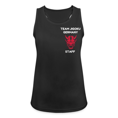 TJG Staff women, Tank Top 2, black - Frauen Tank Top atmungsaktiv