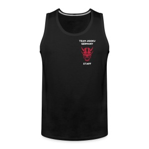 TJG Staff men, Tank Top, black - Männer Premium Tank Top