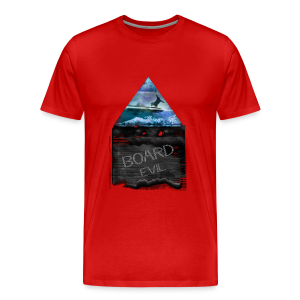 BOARDevil Sea and Mountains - Männer Premium T-Shirt
