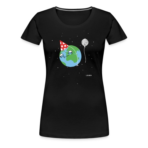 Happy Earth Women's Shirt - Women's Premium T-Shirt