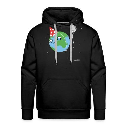 Happy Earth Men's Hoodie - Men's Premium Hoodie