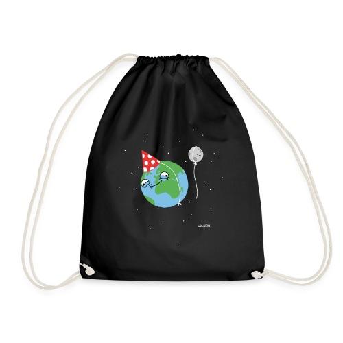 Happy Earth Cinch Bag - Drawstring Bag