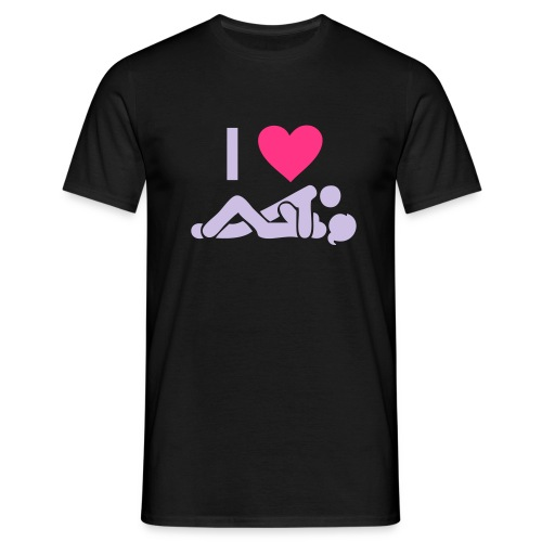 Herre t-shirt. - Herre-T-shirt