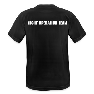 Arbeits T-Shirt Night Operation Team - Men's Breathable T-Shirt