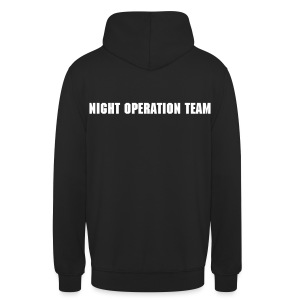 Pullover Night Operation Team - Unisex Hoodie