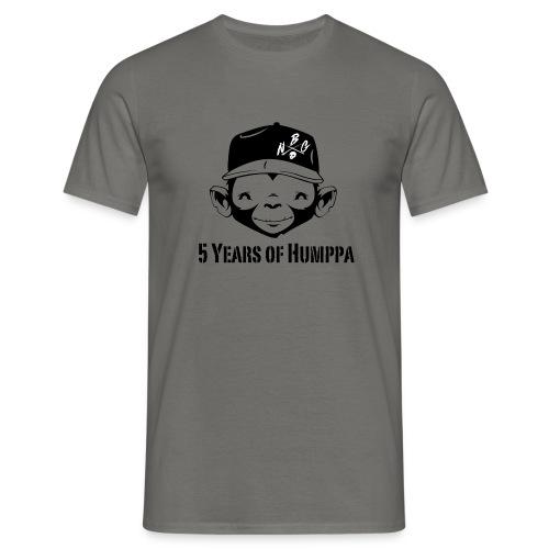 5 years Monkey Business Black - Männer T-Shirt