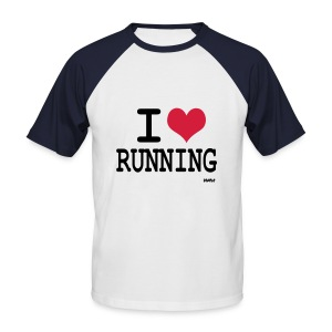 I love Running - T-shirt baseball manches courtes Homme