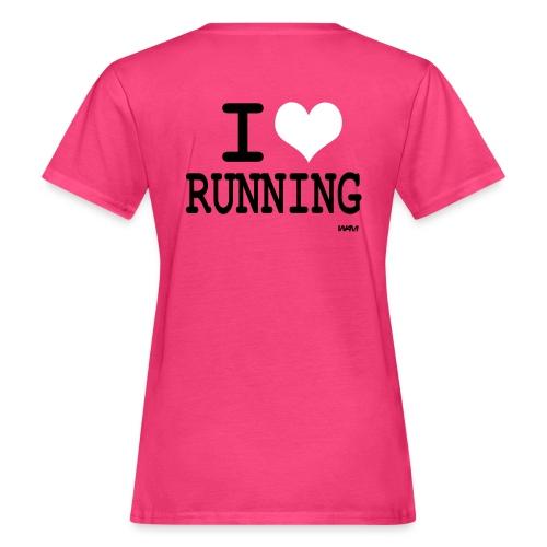 I love Running  ! - T-shirt bio Femme
