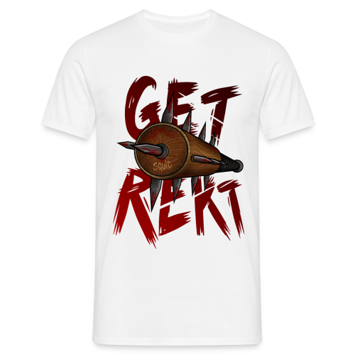 GET REKT SQUID - Men's T-Shirt