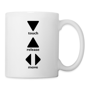 Touch Release Move - Mug