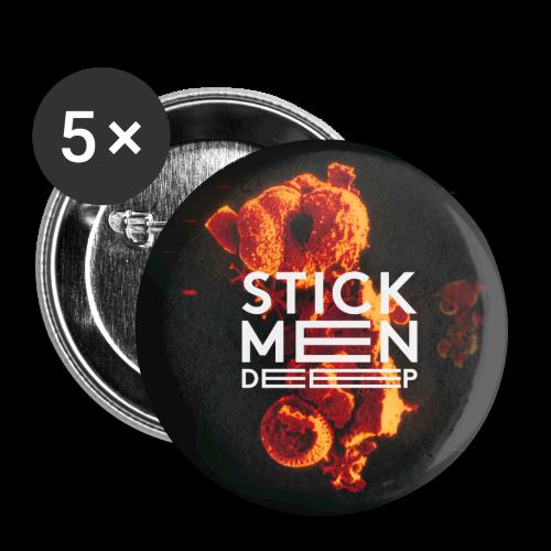 Stick Men - DEEP - Buttons small 25 mm