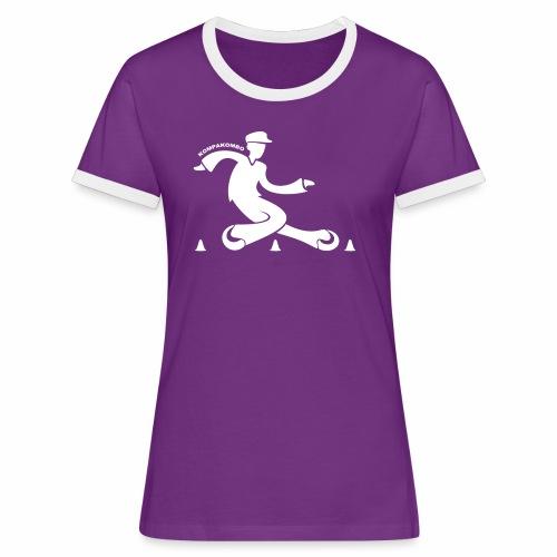 Tshirt KPKB Femme 2017 - T-shirt contrasté Femme
