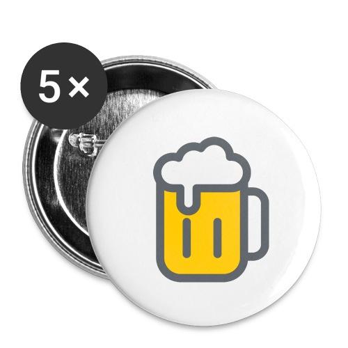 Pins Taille M (x5) - Lot de 5 petits badges (25 mm)