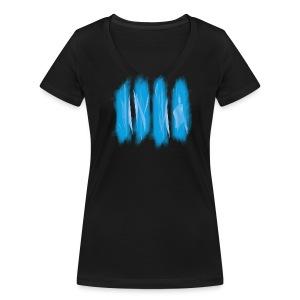 BIRTHTIVAL IIII VIER TÄG - T - female - Frauen Bio-T-Shirt mit V-Ausschnitt von Stanley & Stella