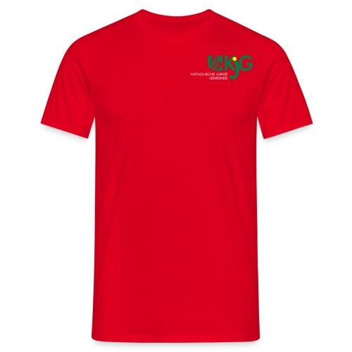 KJG St. Elisabeth T-Shirt rot - Männer T-Shirt