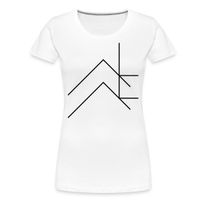 Traits - Girl - T-shirt Premium Femme