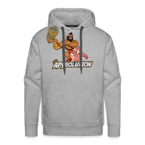 Für die harten unter EUCH! - Männer Premium Hoodie