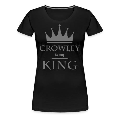 Supernatural: Crowley (girly) - Frauen Premium T-Shirt