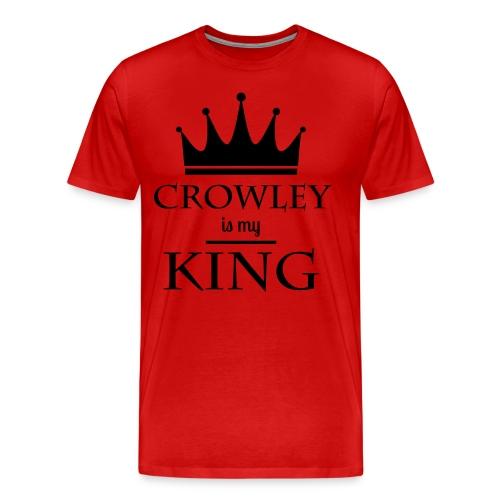 Supernatural: Crowley (rot) - Männer Premium T-Shirt