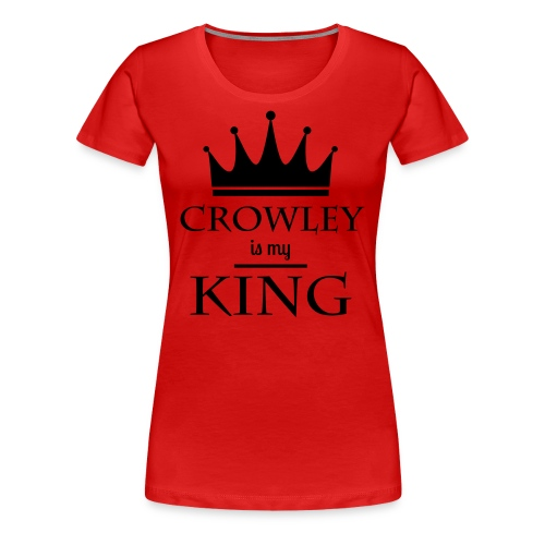 Supernatural: Crowley (girly, rot) - Frauen Premium T-Shirt