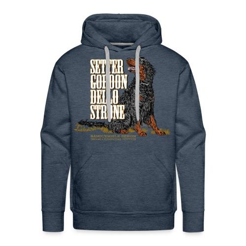 gordon dello Strone - Felpa con cappuccio premium da uomo