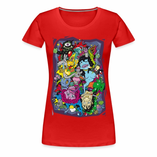 Crank - T-Shirt - Frauen Premium T-Shirt