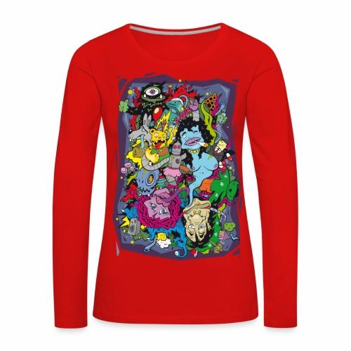 Crank - langarm Shirt - Frauen Premium Langarmshirt