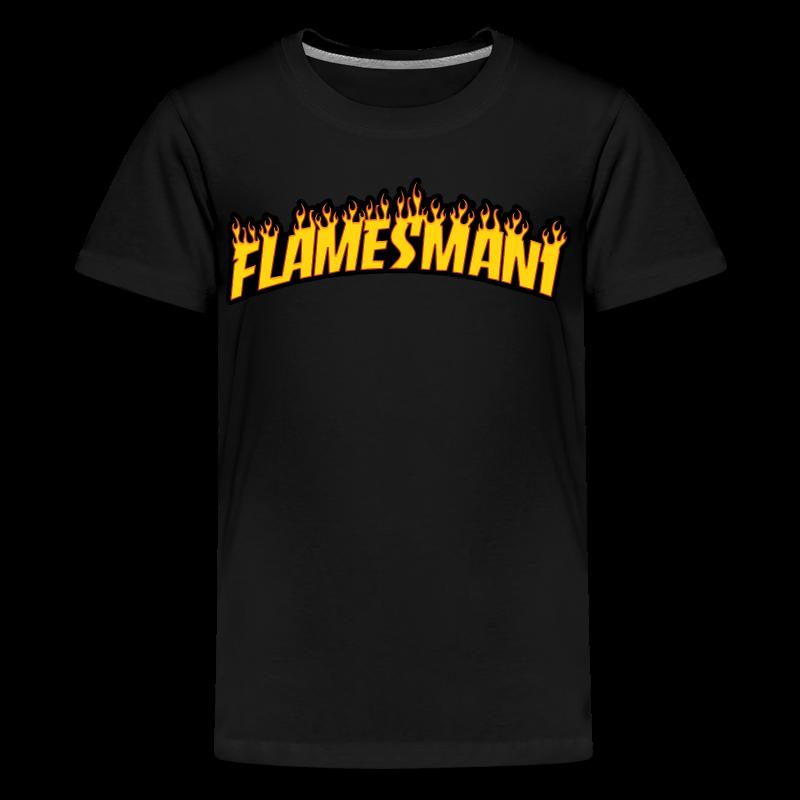 Flasher (Trasher Style) (børne størrelse) - Teenager premium T-shirt