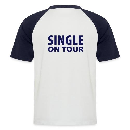 singel,w/n - Kortermet baseball skjorte for menn