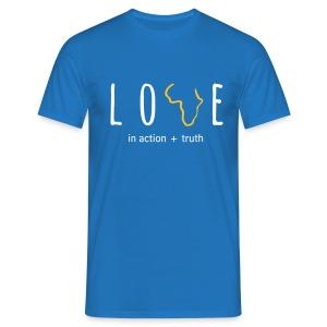 Love In Truth+Action (Mens) - Men's T-Shirt