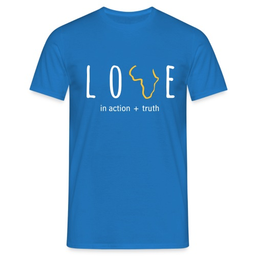 Love In Truth+Action (Mens) - Men's T-Shirt