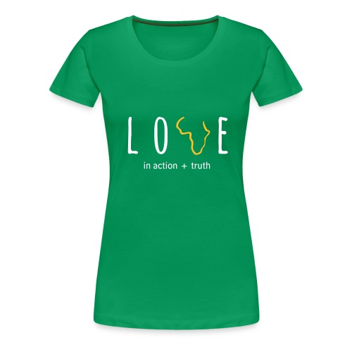 Love In Truth+Action (Womens) - Women's Premium T-Shirt