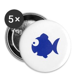 crazy button - Buttons groot 56 mm