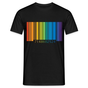 T-Shirt gay code bar - Men's T-Shirt