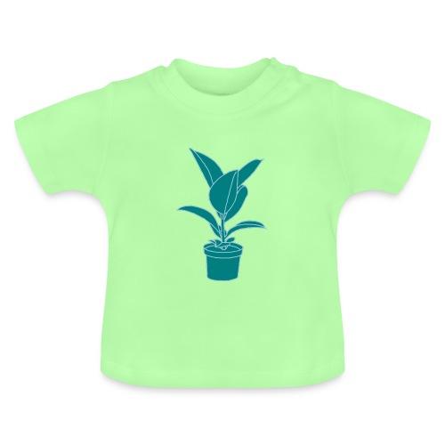 GUMMIBAUM Zimmerpflanze 2 - Baby T-Shirt